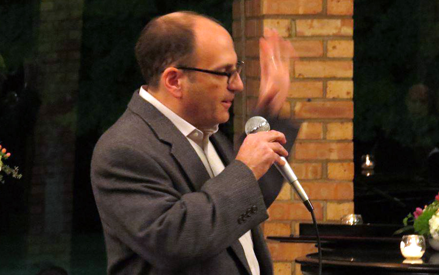 Larry Bloom - Comedian Emcee Host at Promise Against Trafficking at Glen Flora Country Club